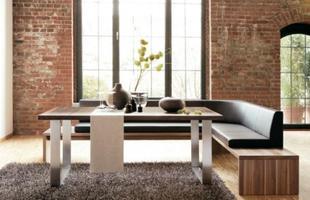 Além do conforto, sofá traz mais informalidade ao momento das refeições