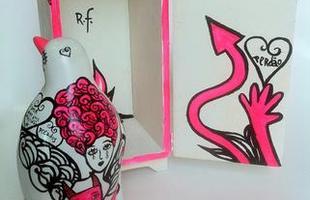Trabalho do artista plástico Rogério Fernandes