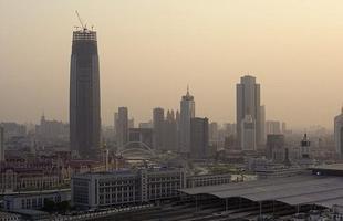 Clones de Nova York em Tianjin, na China