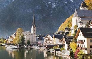Cidade austríaca de Hallstat, patrimônio histórico da Unesco