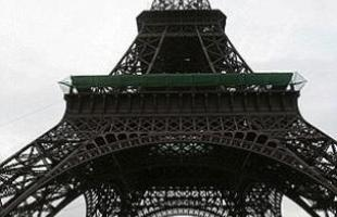 Cópia da Torre Eiffel, em Hangzhou