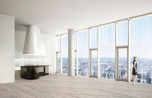 Apesar da crise econômica e financeira que ainda atinge várias partes do mundo, incluindo os EUA, a Big Apple sabe como se reinventar e assiste um novo boom na construção de torres de apartamentos de luxo para multimilionários. Na foto, localizada no bairro Tribeca, no sul de Manhattan, a torre 56 Leonard