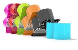 Cores vibrantes dão uma nova roupagem para o produto comum. Renova, empresa que apresenta a novidade, foi reconhecida como uma das 100 marcas da nova geração