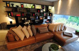 Integração e criatividade fazem parte da decoração do pequeno apartamento que conquista cada vez mais adeptos. Na foto, Loft Room, de Ana Paula Carneiro, ambiente da Casa Cor Minas 2012