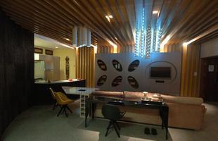 Integração e criatividade fazem parte da decoração do pequeno apartamento que conquista cada vez mais adeptos. Na foto, Loft Zuzu Angel, projeto integrante da Casa Cor Minas 2011, de Sheila Mundim