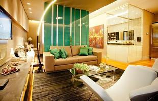 Integração e criatividade fazem parte da decoração do pequeno apartamento que conquista cada vez mais adeptos. Na foto, Loft Tecnológico