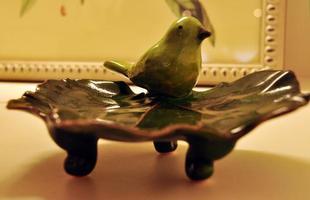 O charme e o colorido dos pássaros na decoração transmitem sensação de liberdade aos ambientes. Peças podem criar desde ambientes provençais a espaços clássicos em casa. Na foto, projeto da arquiteta Luciana Andrade
