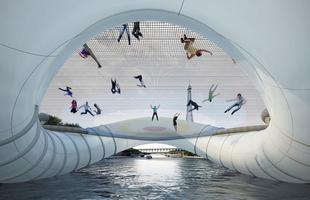 Algumas pontes, além de unir um lugar ao outro, são incríveis obras de arte que atraem turistas de todo o mundo. Ao atravessá-las, os pedestres adquirem uma experiência única. Na foto, ponte flutuante, em Paris