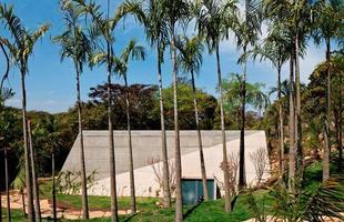 A arquitetura brasileira marca presença em exposição no museu de Frankfurt. Trabalhos de jovens profissionais brasileiros podem ser vistos na cidade alemã até 2014. Na foto, Galeria Lygia Pape, do Rizoma Arquitetura, no Inhotim