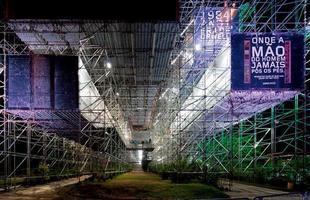 A arquitetura brasileira marca presença em exposição no museu de Frankfurt. Trabalhos de jovens profissionais brasileiros podem ser vistos na cidade alemã até 2014. Na foto, pavilhão Humanidade 2012, no Rio de Janeiro, de Carla Juaçaba