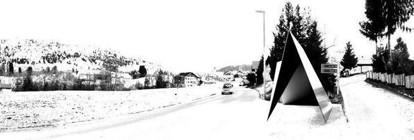 Arquitetos consagrados em todo mundo criaram pontos de ônibus diferentes na Áustria. O projeto em uma pequena vila austríaca mostra como esses abrigos também podem ser uma forma de expressão. Na foto, proposta de Architecten de Vylder Vinck Taillieu