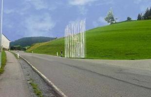 Arquitetos consagrados em todo mundo criaram pontos de ônibus diferentes na Áustria. O projeto em uma pequena vila austríaca mostra como esses abrigos também podem ser uma forma de expressão. Na foto, proposta de Sou Fujimoto