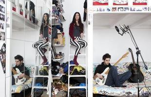 A série de retratos dos fotógrafos italianos Gabriele Galimberti e Edoardo Dilelle reflete sobre a vida de mulheres em várias partes do mundo com base em seu espaço mais íntimo, o quarto. Na foto, Susanna, 27 anos, França