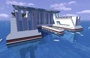 Designers projetam navio gigante que vai abrigar cidade flutuante e será o maior do mundo.Com 25 andares e mais de um quilômetro de comprimento, embarcação criada na Flórida ficará o tempo todo no mar e fará viagens ao redor do planeta, com capacidade para 50 mil residentes
