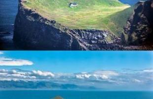 Casa na Islândia é considerada a mais isolada do planeta. Imagine morar no meio de uma ilha varrida pelo vento, sem ninguém à vista - esta construção é, no mínimo, intrigante