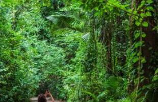 Região tem uma paisagem natural exuberante, de encher os olhos