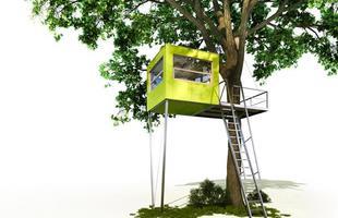 Casas na árvore são diversão para crianças e refúgio para os adultos na Alemanha. Empresa cria habitações arbóreas que são adequadas para pessoas de todas as idades e perfis