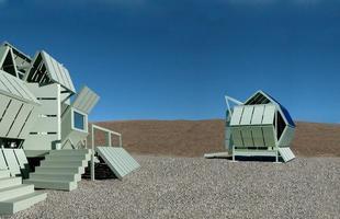 Arquiteto americano cria construção montável que pode ser reorganizada quando e como o dono quiser