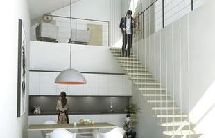 Projeto residencial inova com construções que simulam montanhas. Com ondulações em formas e alturas variadas, o complexo habitacional incorpora áreas de lazer e contemplação