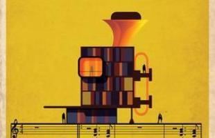 Artista desenha a arquitetura por trás de célebres canções. Na foto, representação de So what, de Miles Davis
