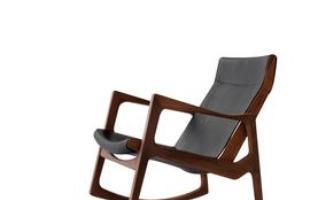 Desde as tradicionais, de palhinha, até as mais modernas, cadeiras de balanço atravessam gerações e até ganham releituras sem perder a função de dar afeto e aconchego à decoração. Na foto, cadeira Euvira, do designer Jader Almeida