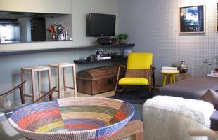 Projeto da arquiteta Marina Dubal na Zona Sul de BH é ótimo exemplo de como fazer um apartamento temporário ter jeito de lar