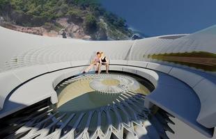 Arquiteto projeta casa que usa ondas de marés para gerar eletricidade