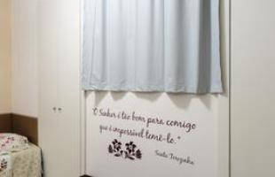 O Lar das Idosas Santa Teresa e Santa Teresinha, em BH, foi completamente revitalizado pela primeira edição do projeto, e entregue às moradoras em 1º de dezembro de 2014. Na foto, ambiente depois da reforma