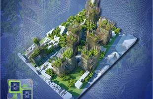 O arquiteto belga futurístico Vincent Callebaut apresentou o projeto intitulado 2050 Paris Smart City