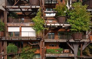 A construção está entre 150 árvores típicas da Itália