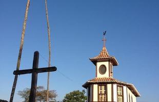 Igreja de Nossa Senhora do Rosário, em Milho Verde, no Serro