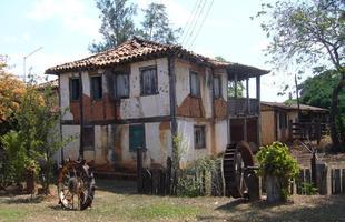Sede de fazenda na zona rural do município de Morro da Garça