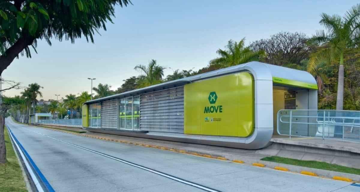 O projeto das estações do BRT de BH foi vencedor por escolha popular da categoria Estações de ônibus e trens