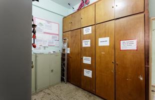 Cerca de 20 cômodos serão revitalizados no prédio que acolhe crianças em situação de vulnerabilidade. Nas foto, o abrigo antes da reforma