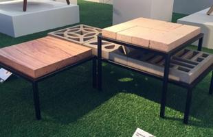 Linha Construção, design Ivan Rezende, na mostra Be Brasil / Rio   Design