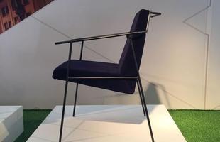 Cadeira Zina, design Zanini de Zanine, na mostra Be Brasil / Rio   Design