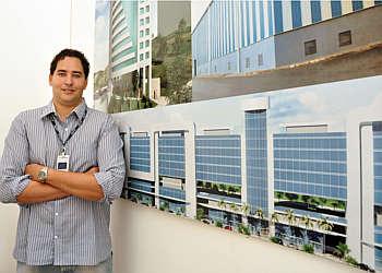 Igor de Lima diz que estudo de fachada permite otimizar aplicação de materiais (Eduardo Almeida/RA Studio)