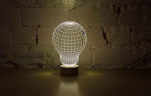 Designer usa ilusão de ótica para criar luminárias incríveis; veja vídeo