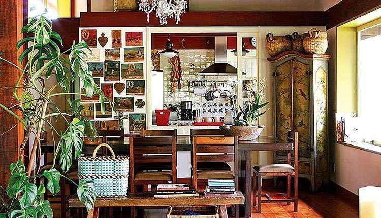 Truques simples podem deixar a sala de jantar com visual campestre; veja dicas