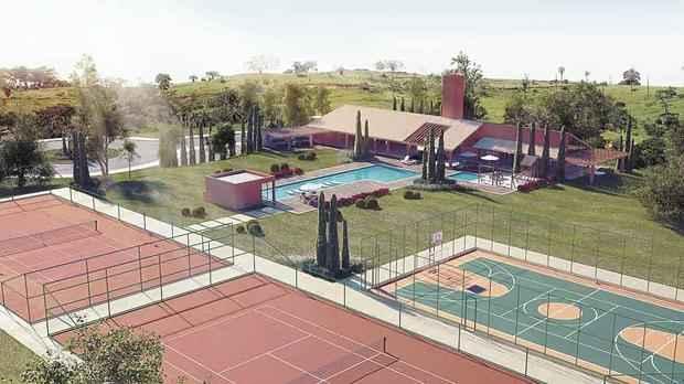 Projeto arquitetônico e paisagístico do Gran Park Toscana, da Gran Viver, valoriza a integração das áreas internas e externas - Gran Viver/Divulgação