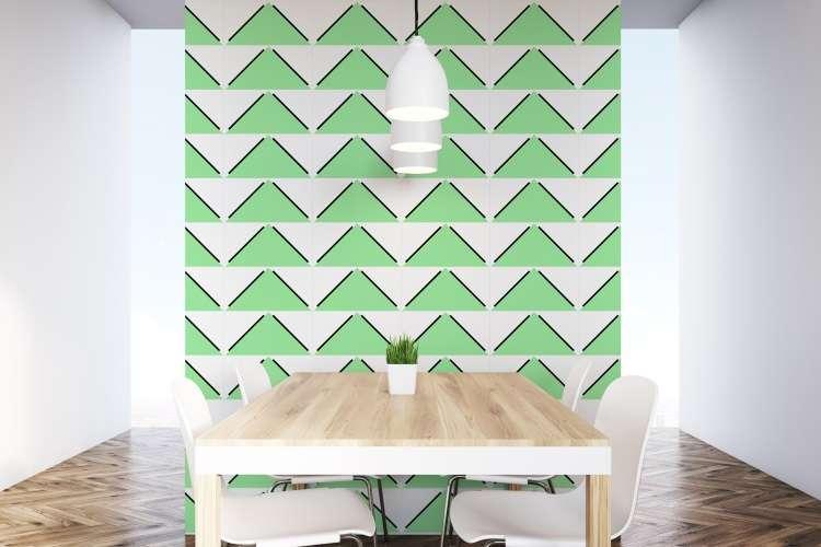 Azulejos decorativos, coloridos e geométricos ganham destaque em ambientes internos e externos