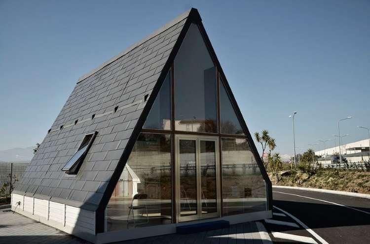 Italiano cria casa móvel e dobrável que fica pronta em até seis horas