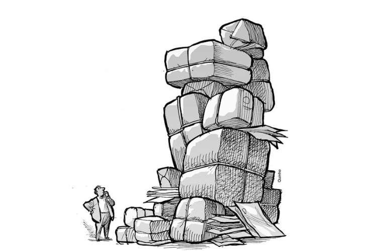 Condomínios têm dificuldades para receber e armazenar as encomendas no edifício
