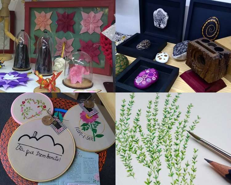 Coletivo de arte e artesanato convida para evento especial de Natal em BH