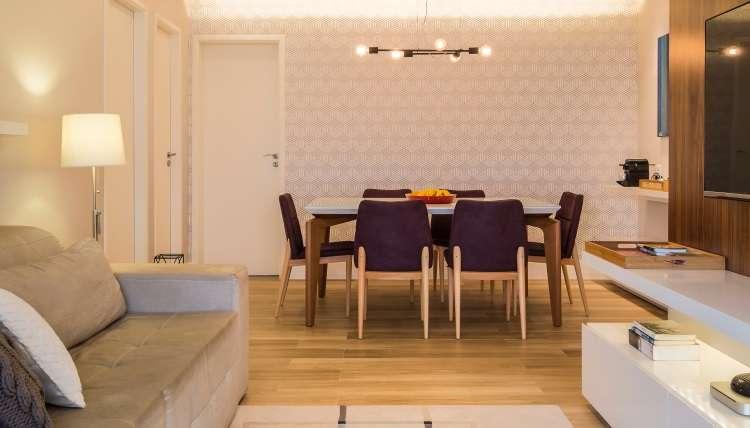 Papel de parede ganha as casas como opção de decoração para quem quer renovar sem usar tintas