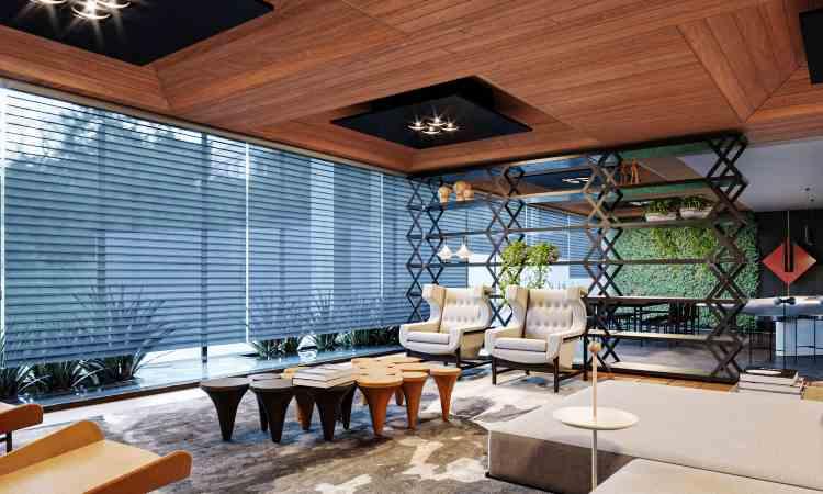 Modernos Eternos: lounge modernista é reduto para vivências e convida à contemplação